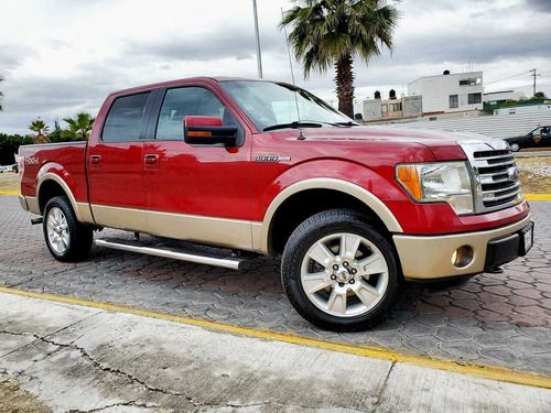 ford lobo 3.5 lariat cabina doble 4x4 mt 2013