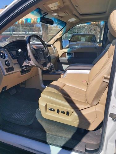 ford lobo 3.5 lariat cabina doble 4x4 mt 2013