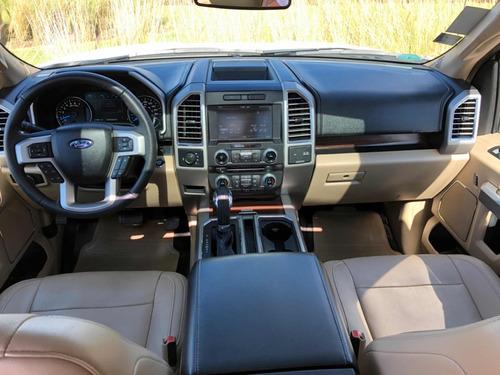 ford lobo 3.5 lariat cabina doble 4x4 mt 2015 nuevecita