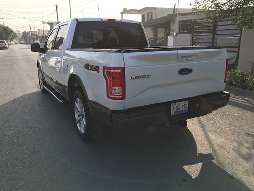 ford lobo 3.5 lariat cabina doble 4x4 mt