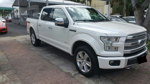 ford lobo 3.5 platinum cabina doble 4x4 mt 2015