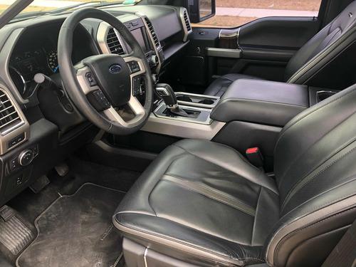 ford lobo 3.5 platinum cabina doble 4x4 mt 2015 nuevecita