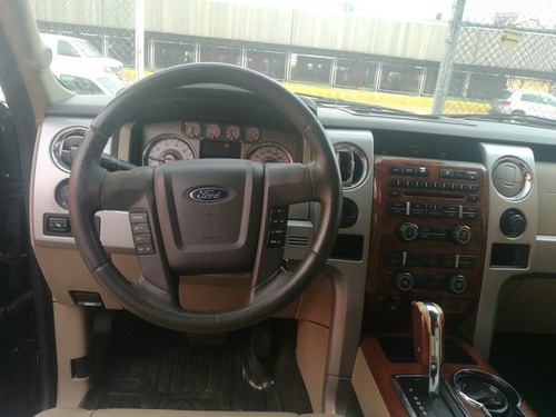 ford lobo 5.4 lariat cabina doble 4x4 mt 2009