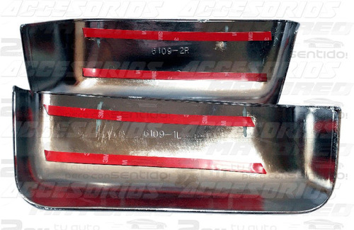 ford lobo f150 / f-150 2004 - 2008 cubre espejos cromados