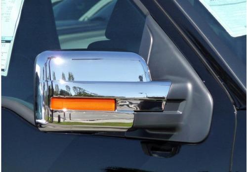 ford lobo f150 f-150 2009 - 2014 cubre espejos cromados