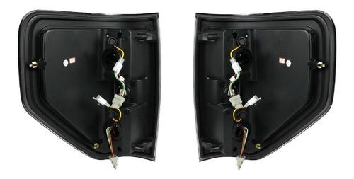 ford lobo f150 f-150 2009 - 2014 juego calaveras led f negro