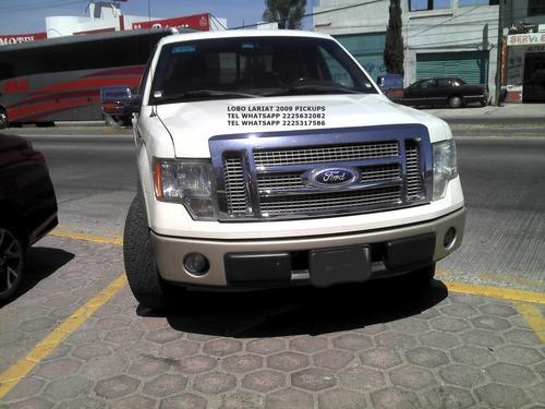 ford lobo lariat 2009 piel q/c 4x2 eng $
