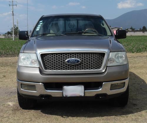 ford lobo lariat crew cab 2004 4x4, piel palanca al pizo