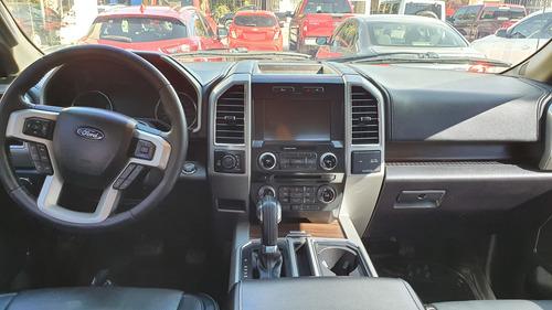 ford lobo lariat crew cab 4x4 modelo 2017