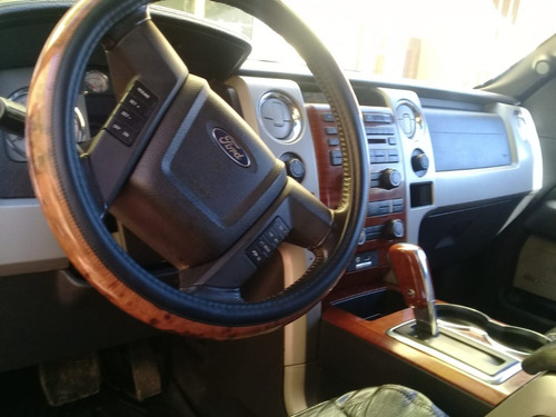 ford lobo lariat doble cabina modelo 2010 piel con q/c