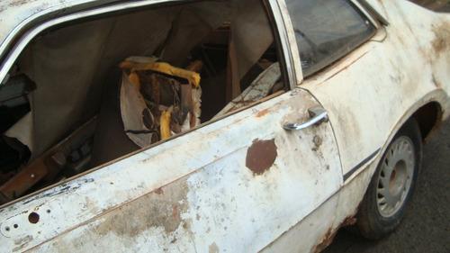 ford maverick 6cc placa amarela p/ restaurar ou peças etc