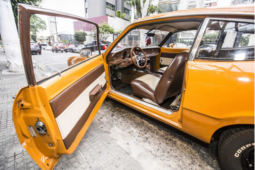ford maverick 77 ldo - troca por antigo v8