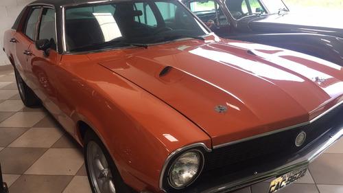 ford maverick sl - 1975 - 302 - v8 - laranja
