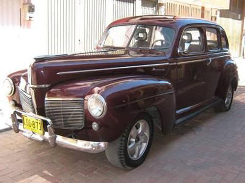 ford mercury   1941