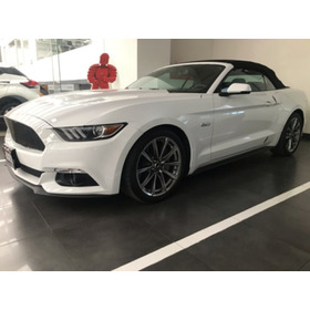 Ford Mustang  2p Gt Convertible Y 50 Anos V8 Ta Piel Dvd Ra