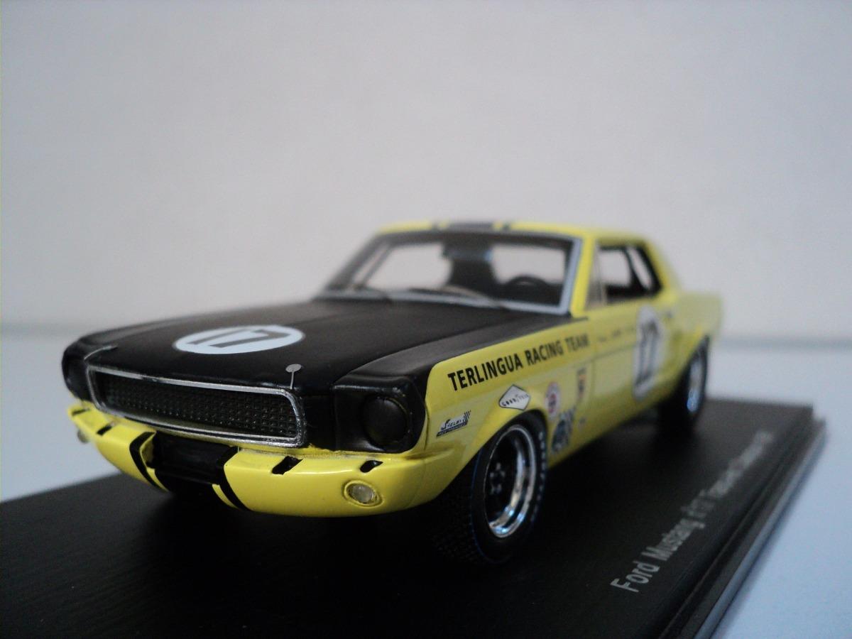 Ford Mustang 1967 Auto A Escala De Colección