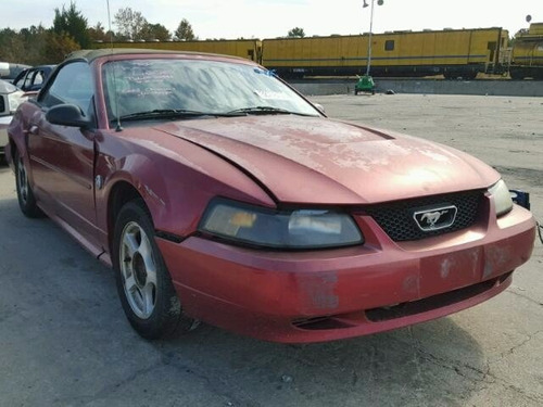 ford mustang 1999-2004: defensa trasera