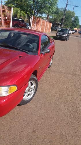 ford mustang  3.8 v6 vermelho  1995