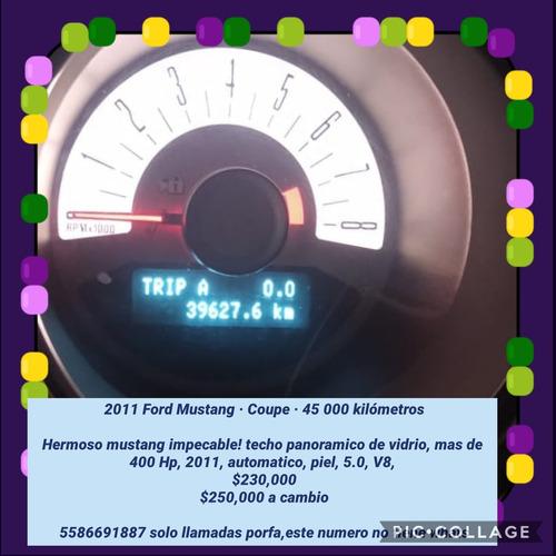 ford mustang 4.6 gt equipado piel mt 2011