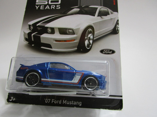 ford mustang 50 years escala 1/64 coleccion hot wheels