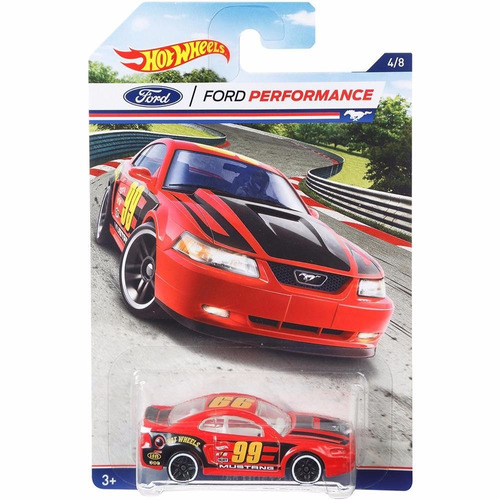 ford mustang 99 coleccion miniatura hot wheels g1