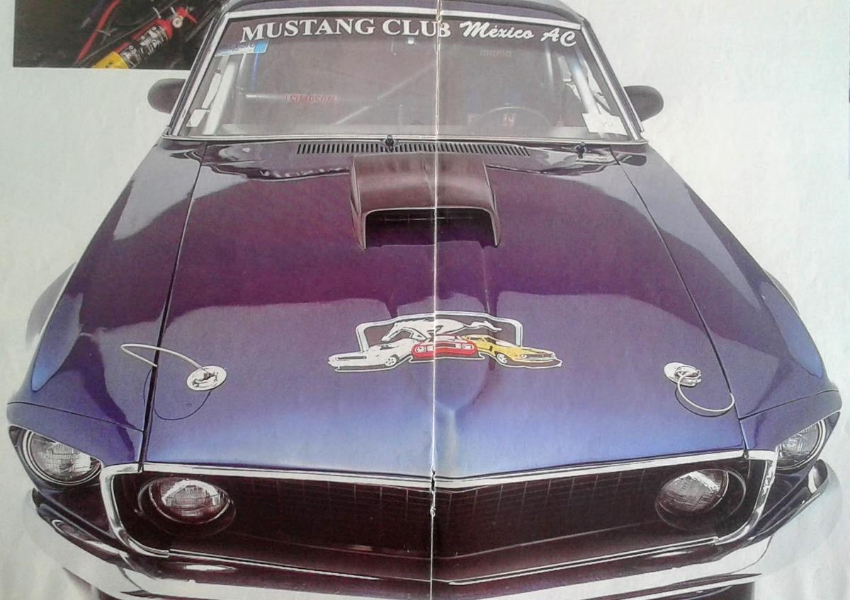 Ford mustang boss 309 1969 póster coleccionable 8 páginas cargando zoom