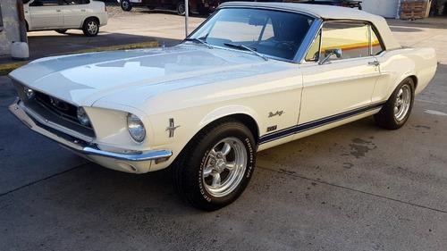 ford mustang cabriolet v8 289 1968