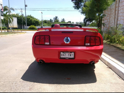 ford mustang  convertible gt modelo 2008