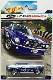 ford mustang coupe escala miniatura coleccion hot wheels g1