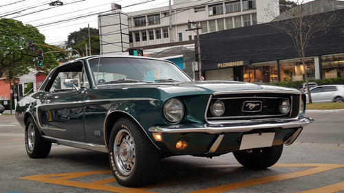 ford mustang coupe gt 1968