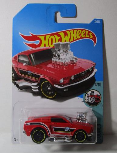 ford mustang de coleccion escala 1/64 hot wheels 7cm largo