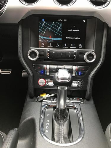 ford mustang ecoboost 2.3 litros turbo piel gps rin 18 2017
