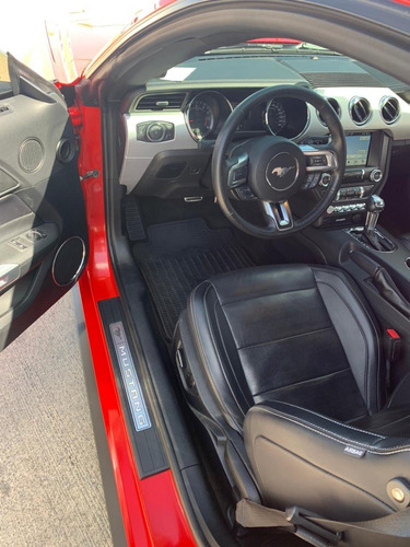 ford mustang ecoboost l4 2017 rojo