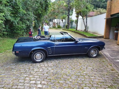 ford mustang grande conversivel 1969 colecionador