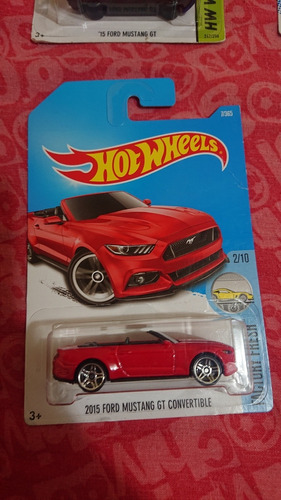 ford mustang gt convertible 2015 hot wheels