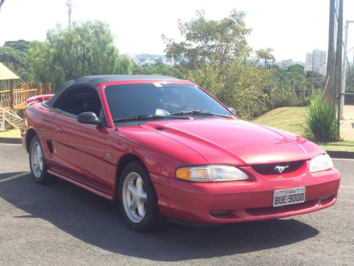 ford mustang gt v8 1995 conversivel manual impecavel origina