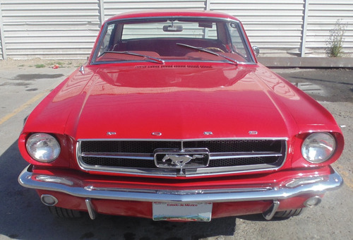 ford mustang hardtop 289 año 1965