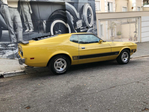 ford mustang mach one v8