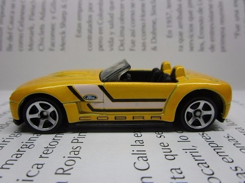 ford mustang shelby cobra escala 7cm coleccion matchbox r52a