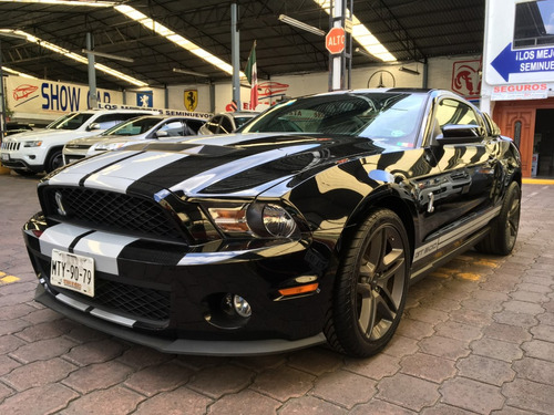 ford mustang shelby gt-500 2010. 6 vel,a/c,cd,piel,rin 19
