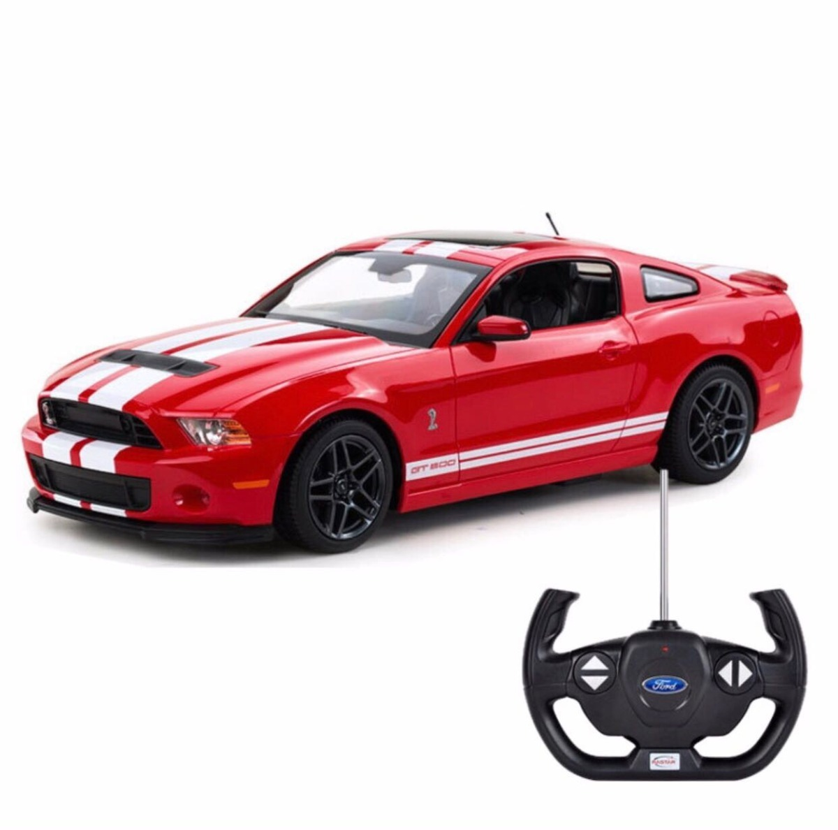 Ford mustang shelby gt 500 a control remoto rastar 1 14 cargando zoom
