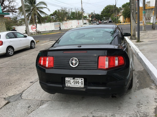 ford mustang v6 2010 color negro 2 ptas