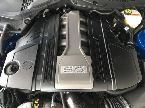 ford mustang v8 negro at 5.0l  2020