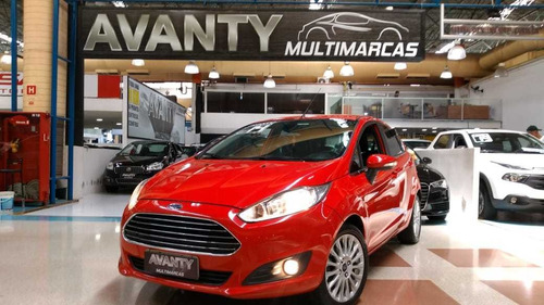 ford new fiesta 1.6 titanium 2014 top de linha at. unico don