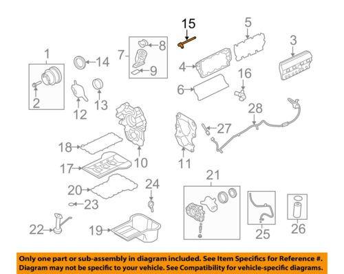 FORD OEM 08-10 F-350 Super Duty-Engine Camshaft Cam Position Sensor 8C3Z12K073A