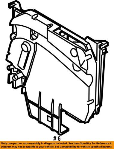 Ford Oem 12 16 Focus 2 0l L4 Electrical Fuse Relay Box Av