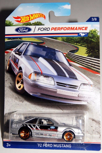 ford performance mustang 92 coleccion hot wheels g1