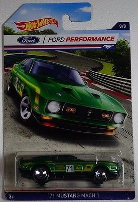 ford performance mustang mach coleccion hot wheels usa 2015