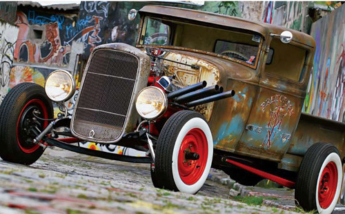 ford pick up 1931 hot hod  v8 hat hod