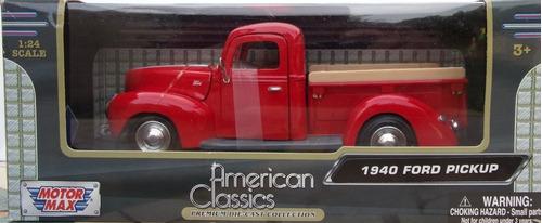 ford pick up 1940  1/24 motromax